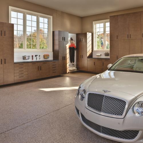 Quartzite Garage Flooring