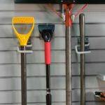 slatwall custom garage organization